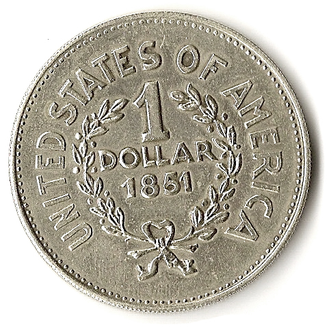 1 Dollar Quot Indian Head Token Quot Fun Coin Tokens Numista
