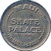 25 Cents - Maui Skate Palace (Hawaii) – obverse