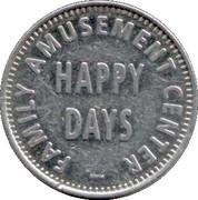 1 Point - Happy Days – obverse