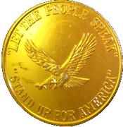 George C. Wallace token – reverse