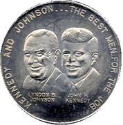 Kennedy - Campaign token – obverse