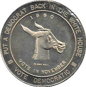 Kennedy - Campaign token – reverse