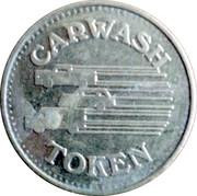 Car Wash Token (No Cash Value) – obverse