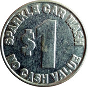 1 Dollar - Sparkle Car Wash – reverse