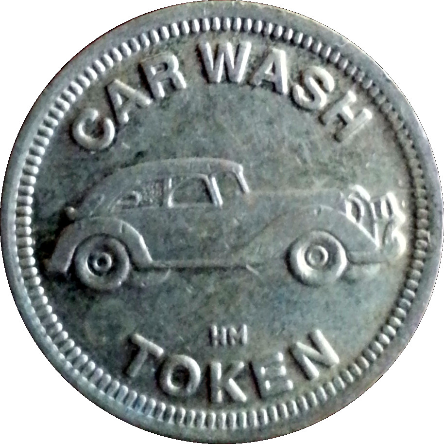 Car Wash Token Hm