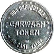 Car Wash Token (No Cash Value) – reverse