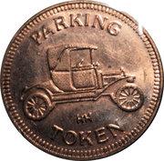 Parking Token - ITR of Georgia (Tucker, GA) – reverse
