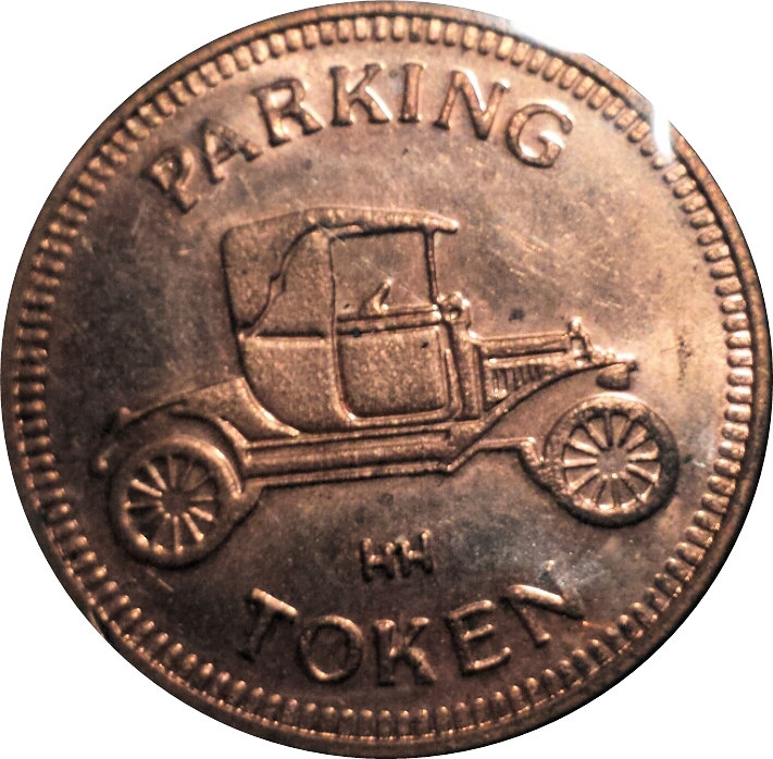 Parking Token - ITR of Georgia (Tucker, GA) - * Tokens * – Numista