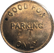 Parking Token - Automatic Parking Devices Inc. (Farmington Hills, Mich.) – reverse