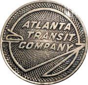 1 Fare - Atlanta Transit Company – obverse