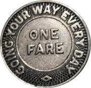 1 Fare - Atlanta Transit Company – reverse