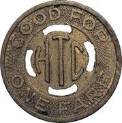 1 Fare - Hutchinson Transportation Co. – reverse