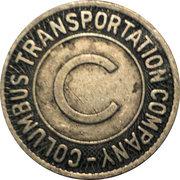 1 School Fare - Columbus Transportation Company – obverse
