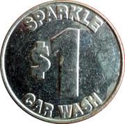 1 Dollar - Sparkle Car Wash – obverse