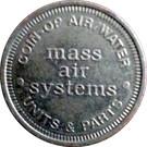 Token - Mass Air Systems – obverse