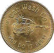 Car Wash Token - The Car Wash Co. – obverse