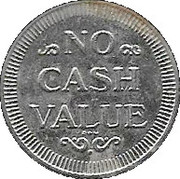 Car Wash Token - Gregg Bingham's – reverse
