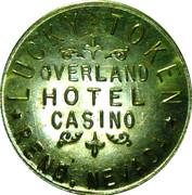 Token - Overland Hotel Casino (Reno, Nevada) – obverse