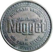 Token - John Ascuaga's Nugget – reverse