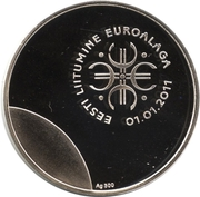 Token - Tere Euro – reverse