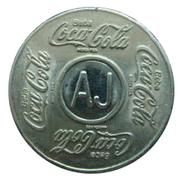 Vending Machine Token - Coca-Cola (AJ - Aracaju, Sergipe) – obverse