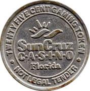 25 Cent Gaming Token - SunCruz Casino – obverse