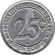 25 Cent Gaming Token - SunCruz Casino – reverse
