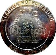 1 Dollar Gaming Token - Clarion Hotel Casino (Reno, Nevada) – obverse