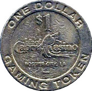 1 Dollar Gaming Token - Isle of Capri Casino (Bossier City, LA) – reverse