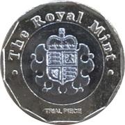 1 Pound - Royal Mint Trial -  reverse