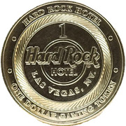 1 Dollar Gaming Token - Hard Rock (Las Vegas) – obverse