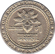 1 Dollar Gaming Token - Horseshoe Casino (Tunica) – obverse
