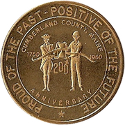 50 Cents - Cumberland County (200th Anniversary) – obverse