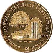 50 Cents - Bismarck, North Dakota – obverse