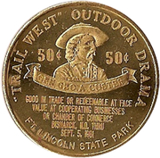 50 Cents - Bismarck, North Dakota – reverse