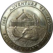 50 Cents - Sault Ste. Marie, Michigan (Souvenir Tri Centennial Money) – obverse