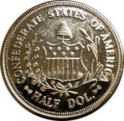 ½ Dollar - Confederate States of America – obverse