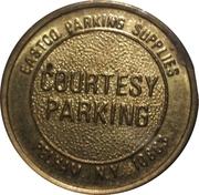 Parking Token - Eastco Parking Supplies – reverse
