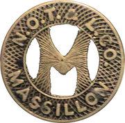 1 City Fare - N.O.T. & L.CO. (Massillon) – obverse