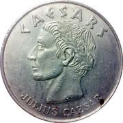 1 Dollar Gaming Token - Caesars Palace Casino (Atlantic City) – obverse