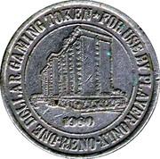 1 Dollar Gaming Token - Sands Hotel Casino (Reno) – reverse