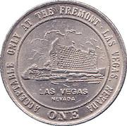 1 Dollar Gaming Token - Freemont Casino (Las Vegas) – obverse