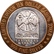 10 Dollar Gaming Token - Slots A Fun Casino (Las Vegas) – obverse