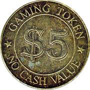 5 Dollar Gaming Token - Finnini Slots – obverse