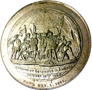 So-Called Dollar - 1893 Columbian Exposition World Globe – obverse