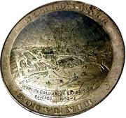 So-Called Dollar - 1893 Columbian Exposition World Globe – reverse
