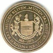 1 Koggerdaalder - Muiden (1025 years) – obverse