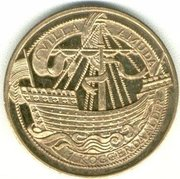 1 Koggerdaalder - Muiden (1025 years) – reverse
