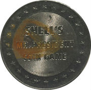 Token - Shell's Mr. President Coin Game (Andrew Jackson) -  reverse