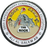 386th Expeditionary Communications Squadron – obverse